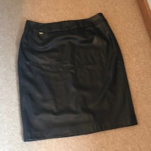 Leather Calvin Klein Skirt
